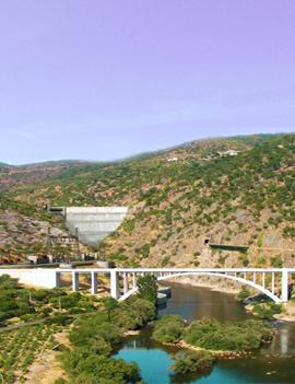 Esboco Barragem Vale do Tua